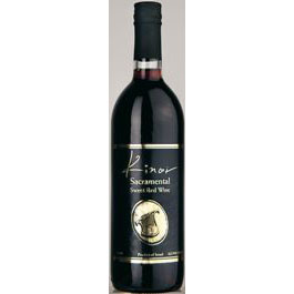 Kinor Sacramental Sweet Red Wine 75 Cl. 12% Vol.