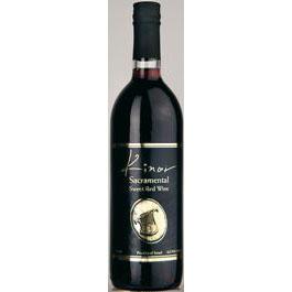 Kinor Sacramental Sweet Red Wine 75 Cl. 12% Vol.