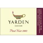 Yarden Pinot Noir - 2005 - 75 Cl. 14,5% Vol.
