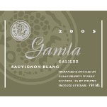 Gamla Sauvignon Blanc -2009- 75 Cl. 13% Vol.