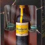 Mandarine Napoleon 50 Cl. + 2 Twisterglazen