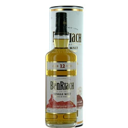 BENRIACH 12 Years Single Malt Classic Speyside 70 Cl. 43% Vol.