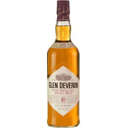 Glen Deveron 10 Years Old 70 Cl. 40% Vol.
