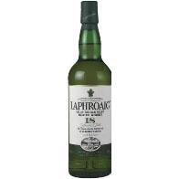 Laphroaig 18 years. 70Cl. 48%Vol.