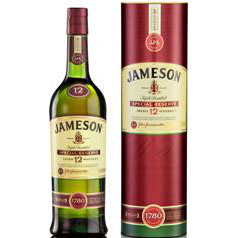Jameson Irish Whiskey 12 years old 100 Cl. 40% ALC.
