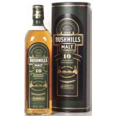 Bushmills Malt 10 Years 100 Cl. 40% Vol.