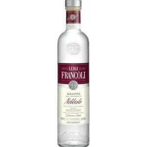 Grappa Luigi Francoli Nebbiolo. 70Cl. 41,5% Vol.