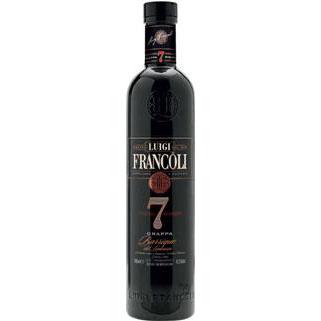 Grappa Luigi Francoli Barrique del Limousin 7 Anni. 70Cl. 42,5%