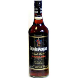 Captain Morgan Black Rum 100 Cl. 40% Vol.