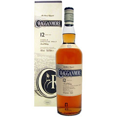 Cragganmore Single Speyside Malt 12 Years 70 Cl. 40% Vol.