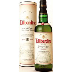 Tullibardine Single Malt 10 Years 70 Cl. 40% Vol.