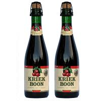 Kriek Boon Lambiek 100%  -  2 flessen 37,5 Cl. 4% Vol.