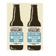 Maallust Weizen -2 flessen 30 Cl.- 5% Vol.