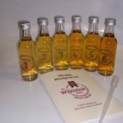 Whisky (blind)proeverij 6x5Cl.